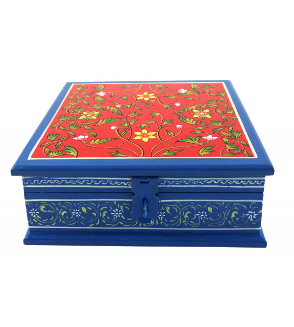 Painted BOX JAIPUR STYLE PLY 6x6 INCH