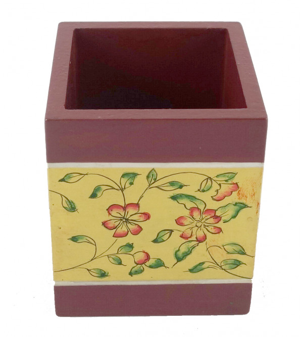 PAINTED PEN HOLDER JAIPUR STYLE  PLY 2.5x3 INCH
