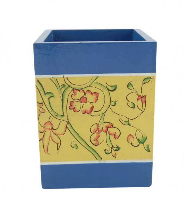 PAINTED PEN HOLDER JAIPUR STYLE PLY 3x4 INCH