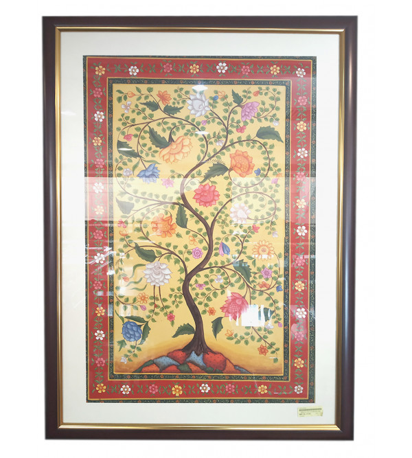 Cotton painting  with frame