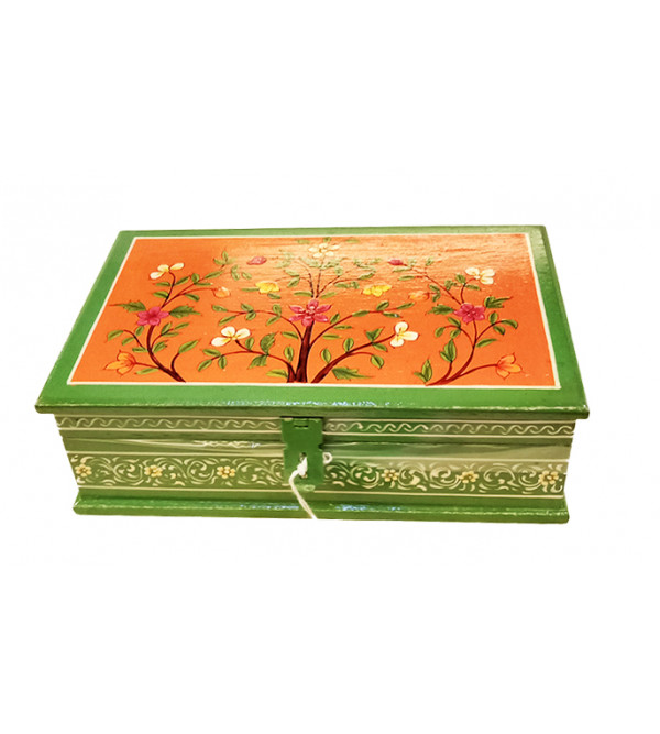 Wooden Handcrafted Box Size 8X5 Inch