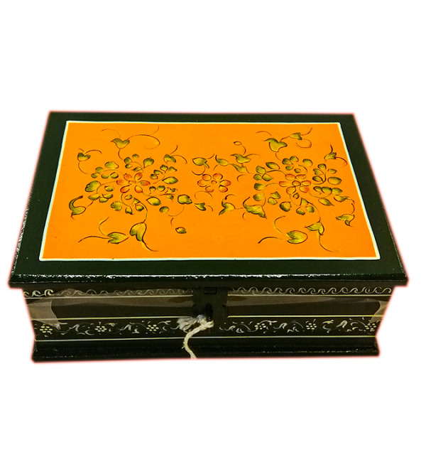 Jaipur Style Hand Painted Box Size 7X2.5 Inches