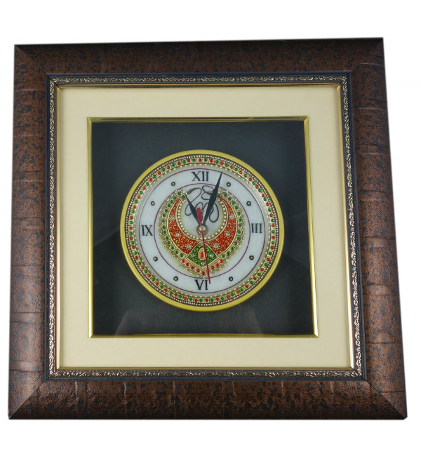 Marble items  Figures watch wplate framed 6 Inch plate