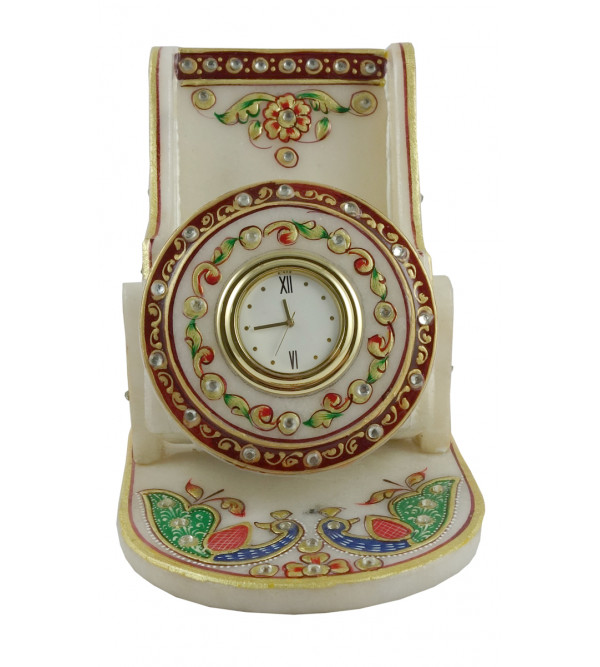 Mobile Phone Holder Handcrafted With Pure Gold Leaf Work