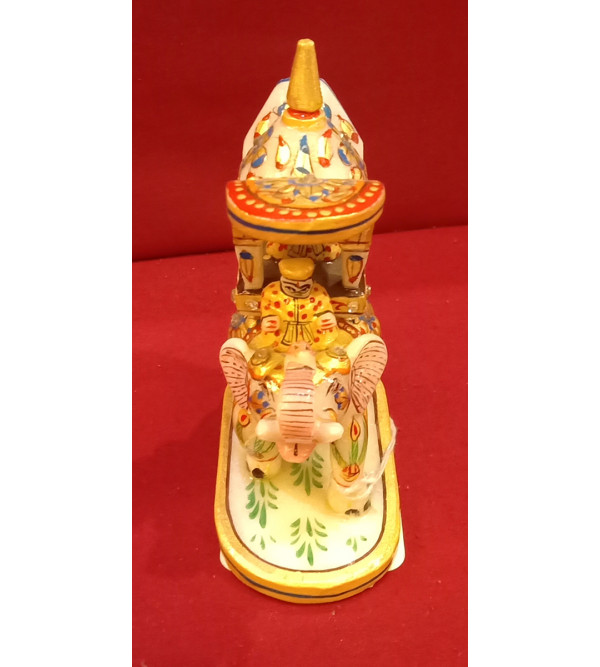 Ambari Handcrafted With Pure Gold Leaf Work