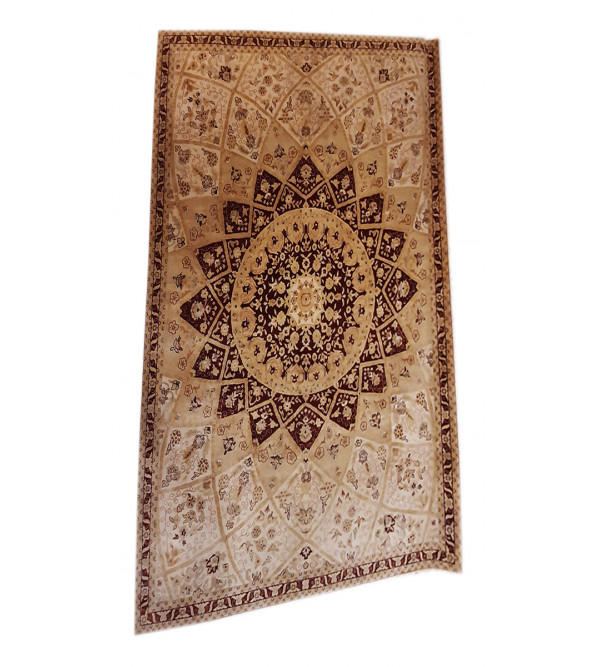 Bhadohi  Woolen Hand Knotted carpet Size 8 ft x10 ft