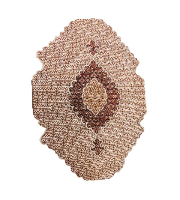Bhadohi  Woolen Hand Knotted carpet Size 9.11 ft x7.11 ft