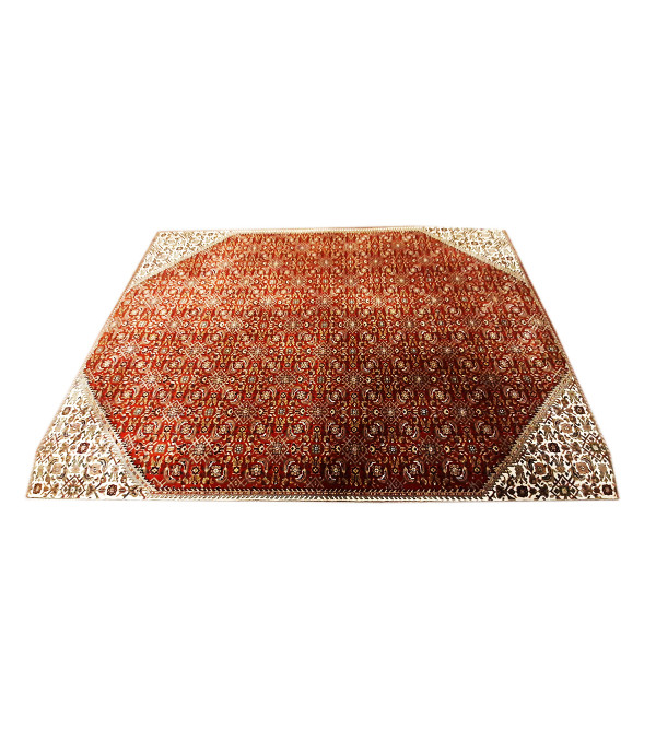 Bhadohi  Woolen Hand Knotted carpet Size 10 ft x8.3 ft