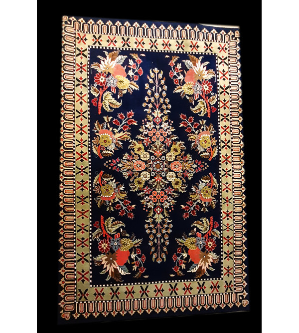 Bhadohi  Woolen Hand Knotted carpet Size 6 ft. x3.11 ft.
