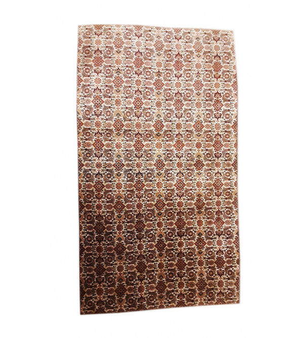 Bhadohi  Woolen Hand Knotted carpet Size 9.8 ft x6.7 ft