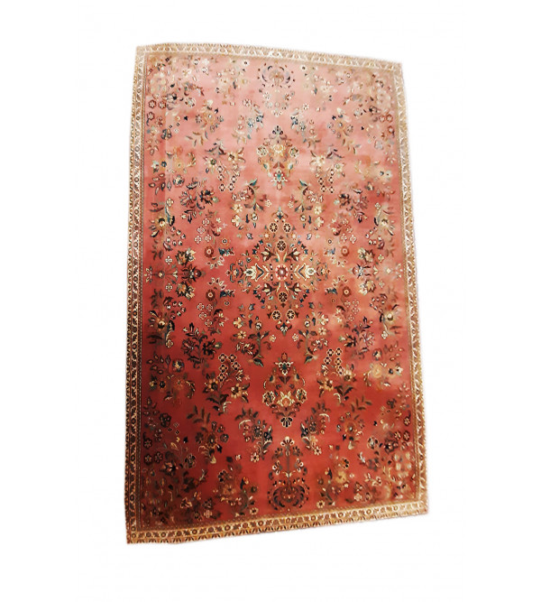 Bhadohi  Woolen Hand Knotted carpet Size 11.4 ft x8.5 ft