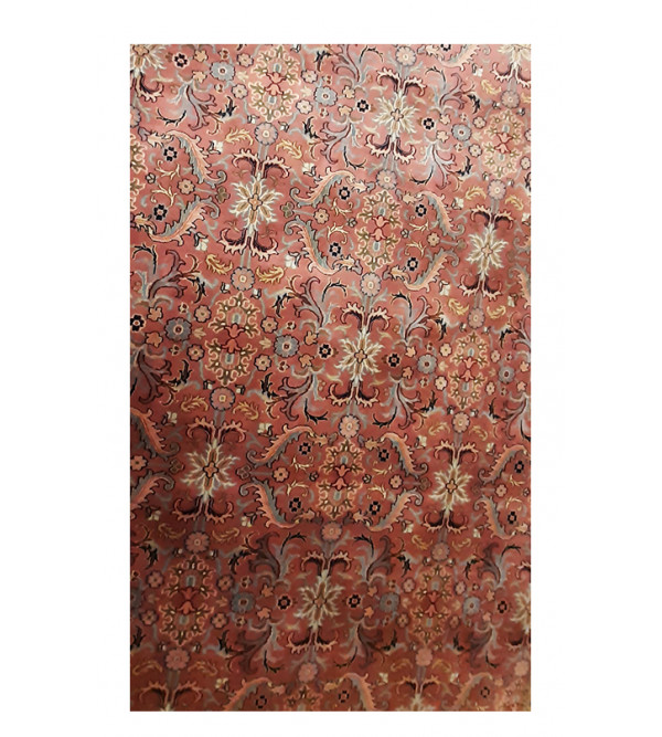 Bhadohi  Woolen Hand Knotted carpet Size 10.2 ft x8 ft