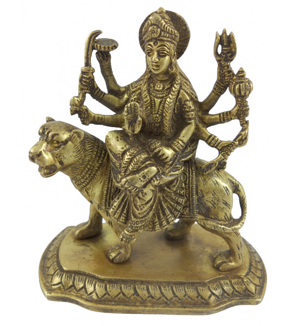 HANDICRAFT BRASS DURGA 5 INCH