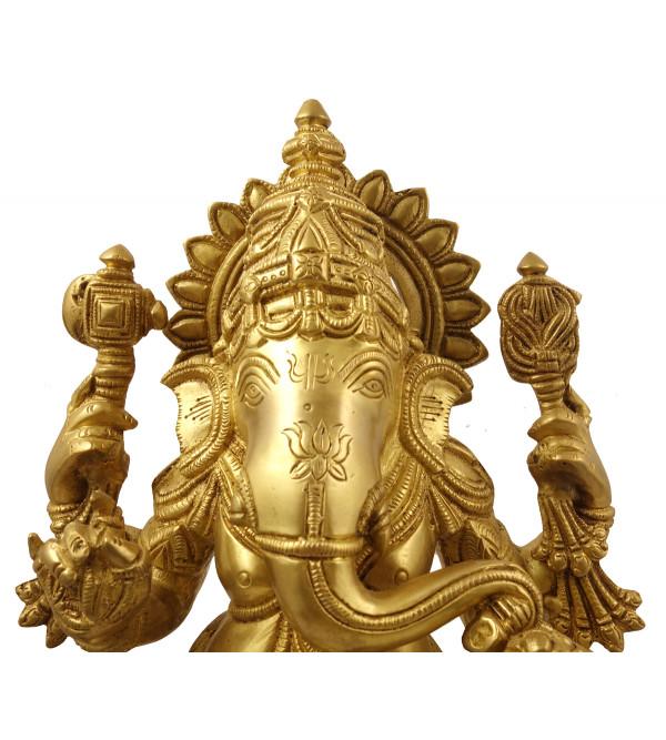Hanicraft Brass Ganesha