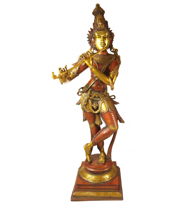 Handicraft Brass Big Krishna