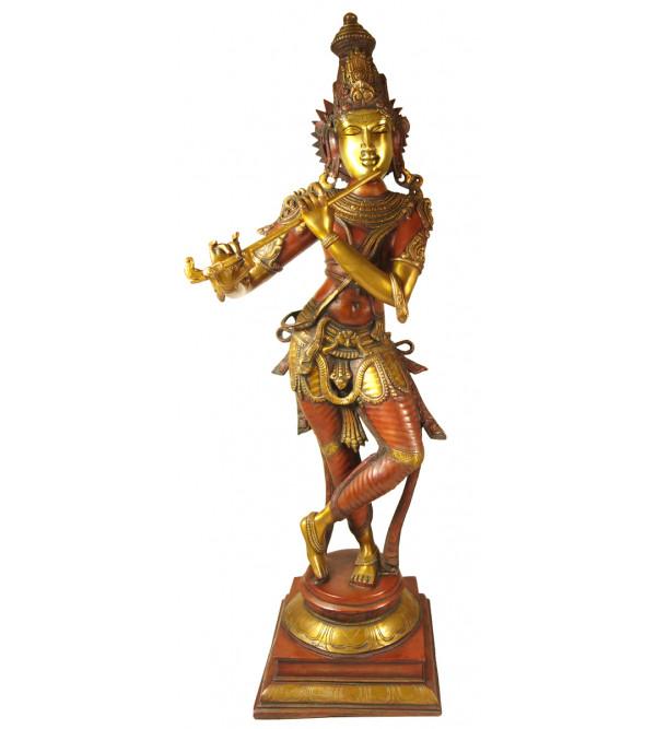Handicraft Brass Big Krishna