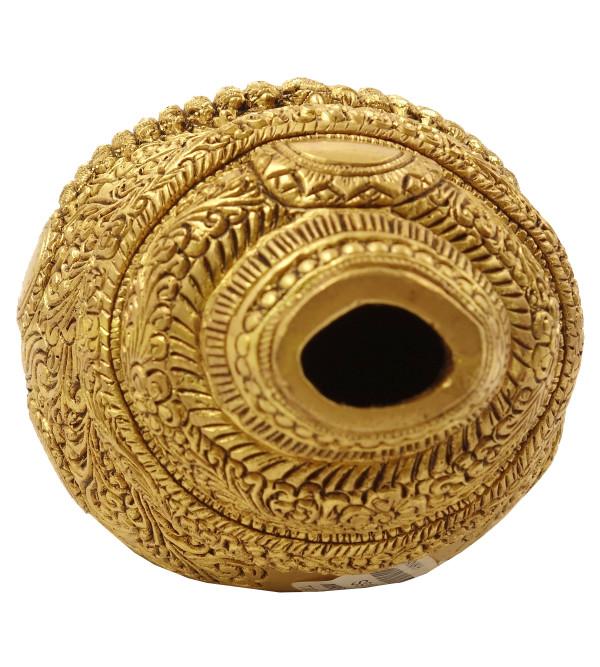 Handicraft Brass Fine Vishnu Viratdur Shankh