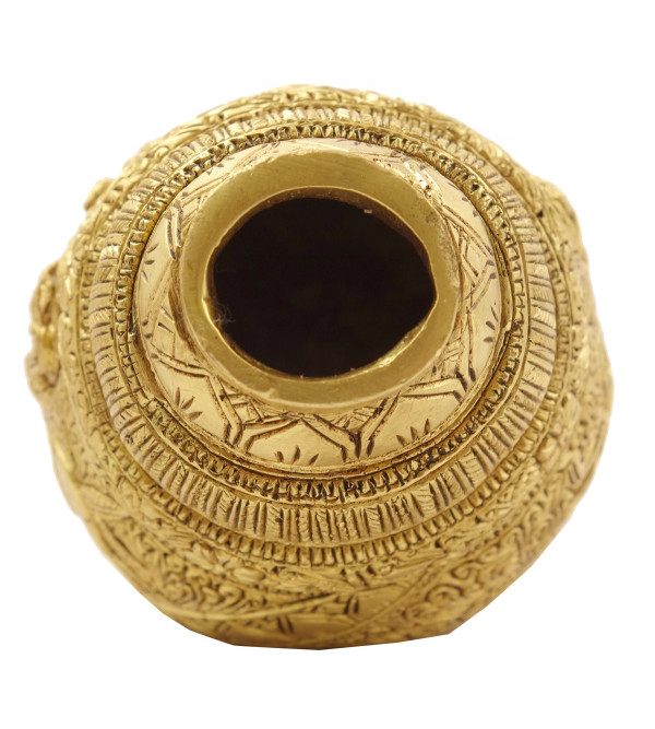 Handicraft Brass Durga Shankh