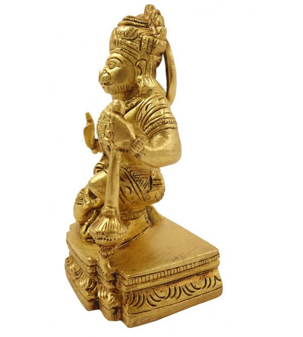 Handicraft Brass Hanuman 4 Inch