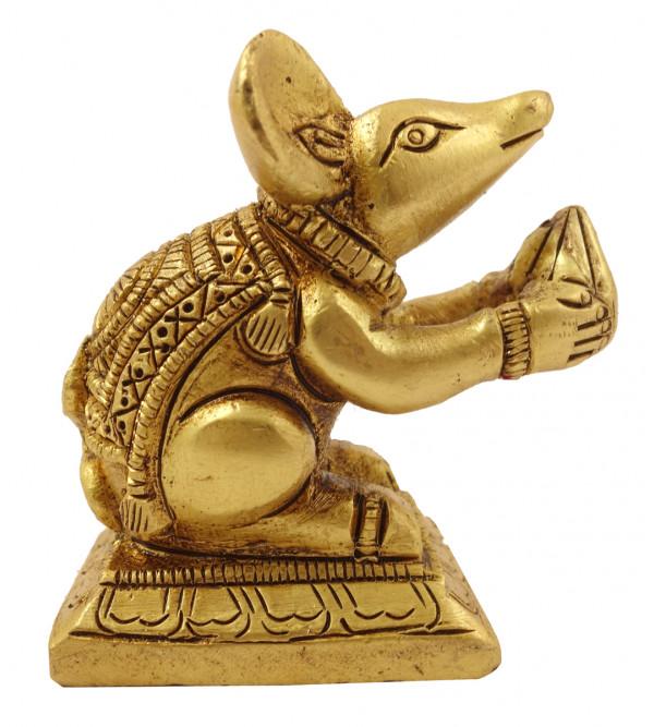 Handicraft Brass Mouse Figure
