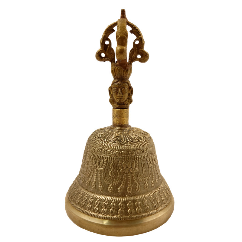 Handicraft Brass Bell Artifects 5 Inch