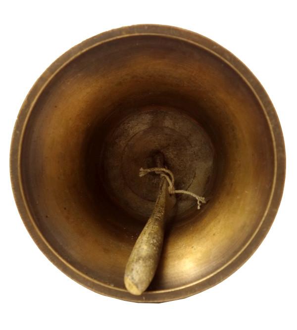 Handicraft Brass Bell Artifects 6.5 Inch