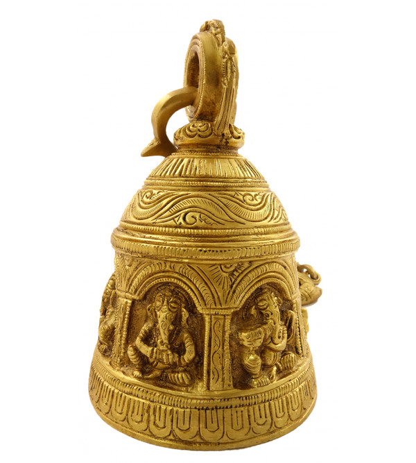 Handicraft Brass Ganesha Hanging Bell