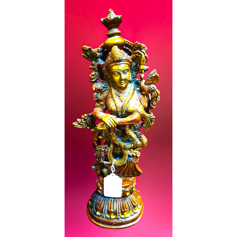 Radha Handcrafted In Brass Size 20 Inches