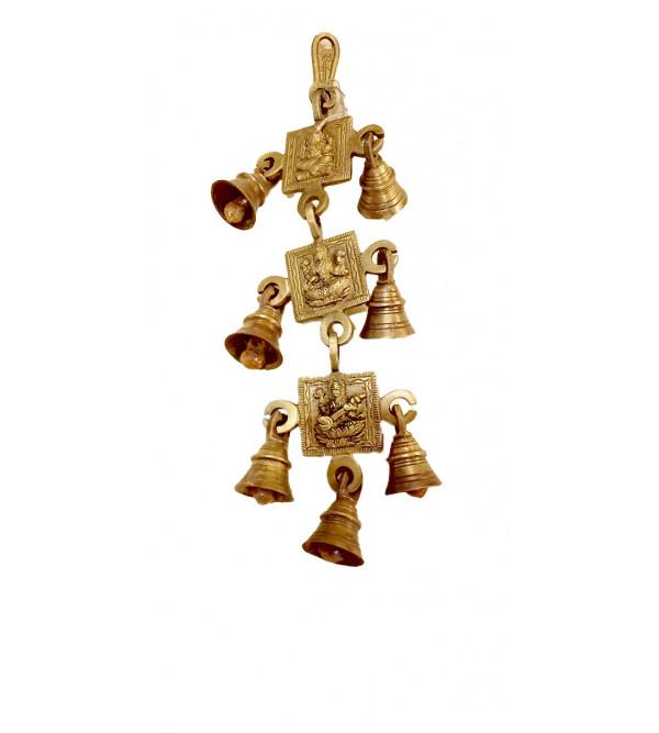 Brass Cow Bell 3 string fine work