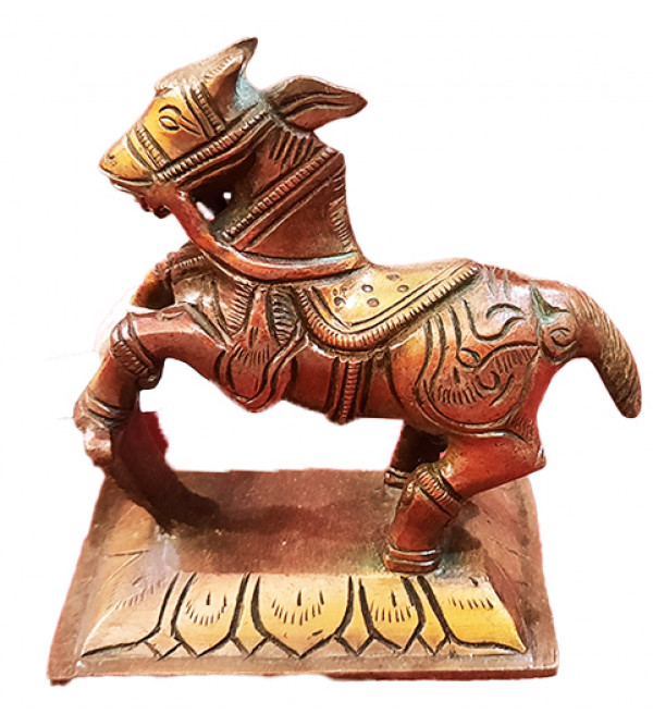 Brass Handcrafted Horse 4 inches fine work