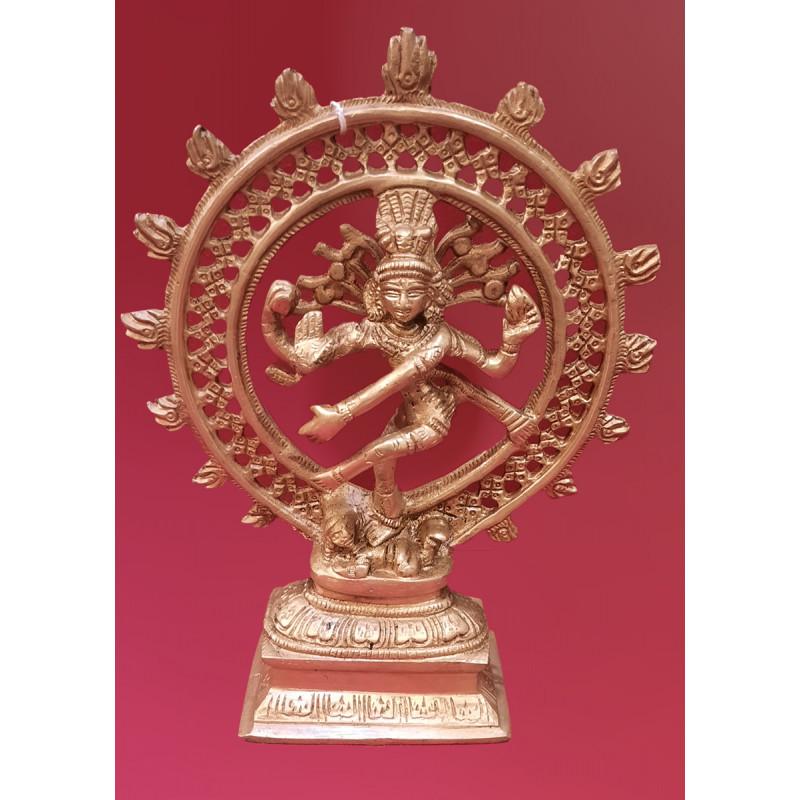 Brass Natraj jaali 8 inch fine work