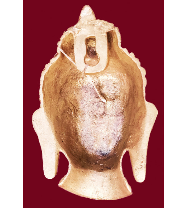Brass  Buddha Mask Fine 5 Inch