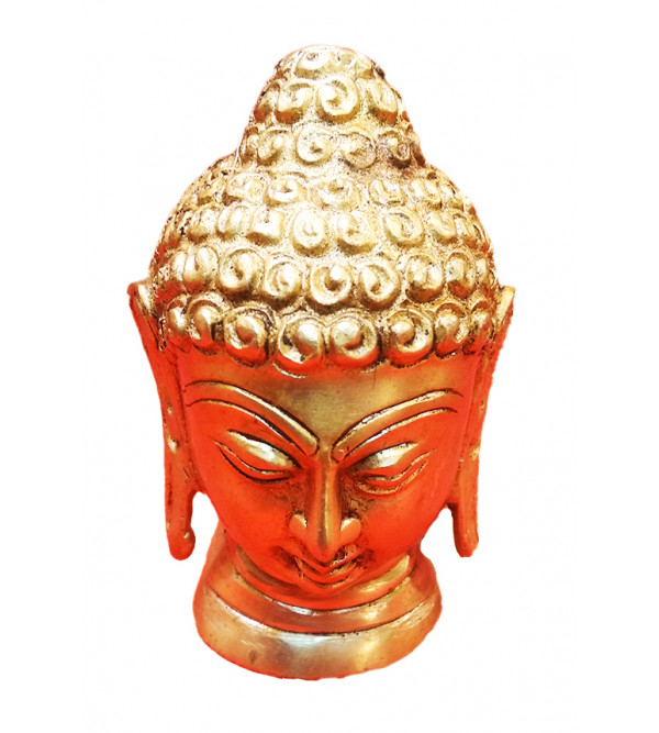 Buddha Brass Head 4 Inches