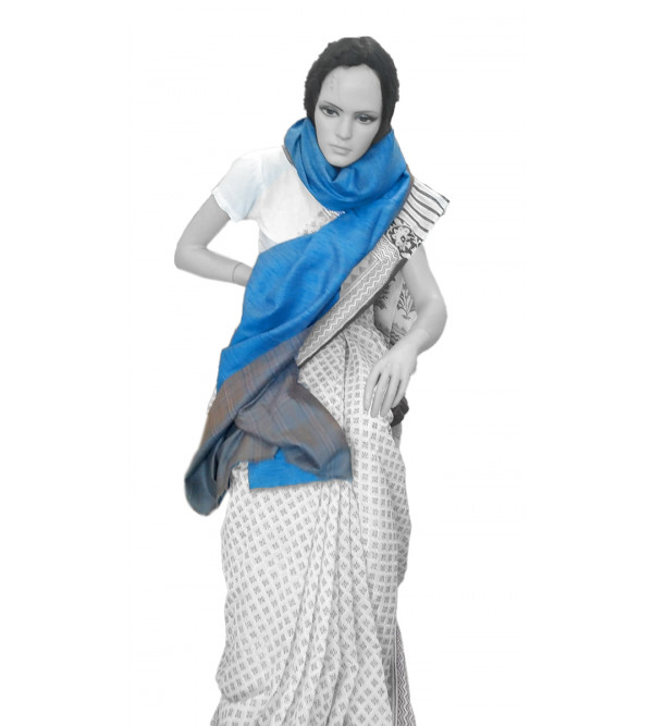 Cashmere Pashmina Shawl Hand Embroidered in Kashmir Size,40X80 Inch