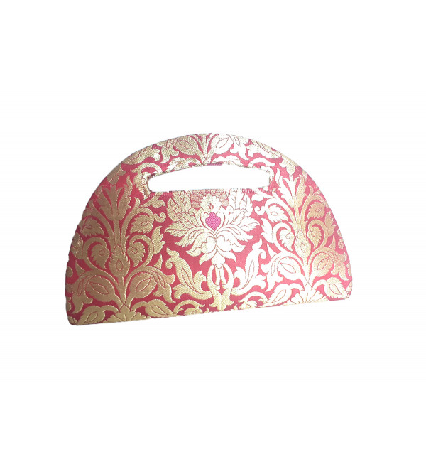 CCIC Silk Evening Bag With Assorted Designs Size 10x6 Inch