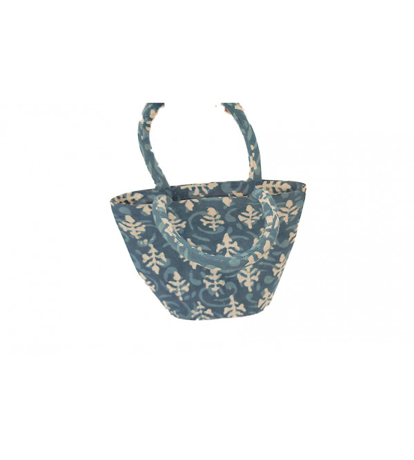 BUCKET BAG BORDER SMALL
