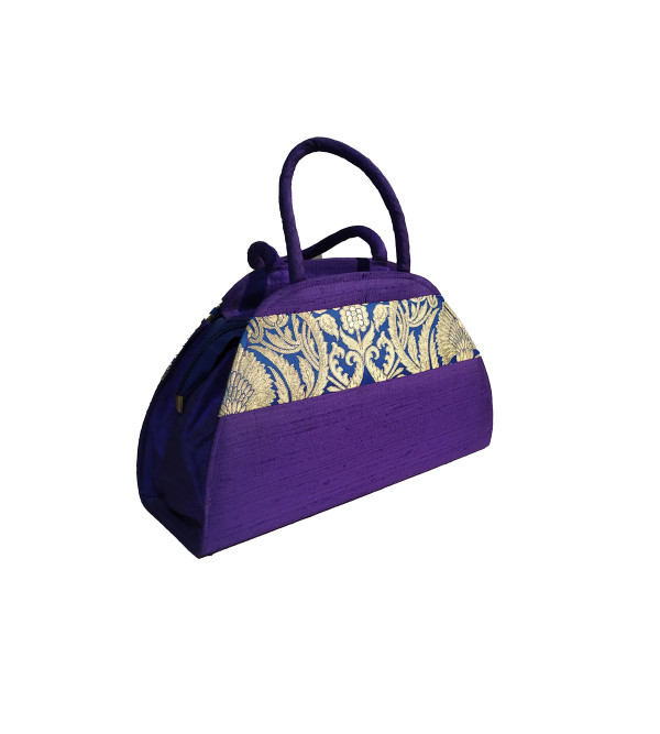 CCIC Silk Evening Bag With Assorted Designs Size 9x6 Inch