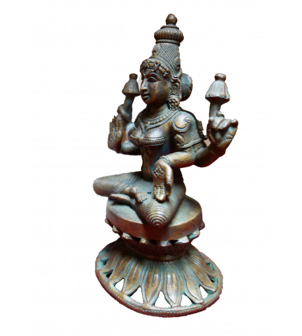 Laxmi Handcrafted In Bronze