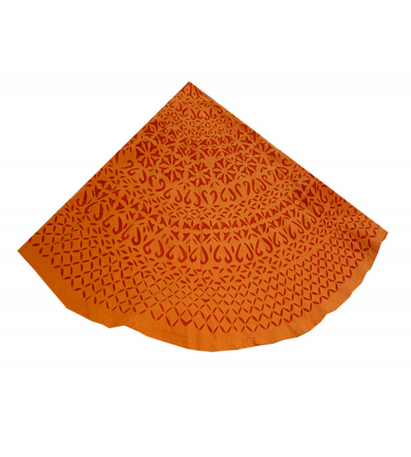 TABLE CLOTH COTTON RAJASTHAN ROUND   90 INCH DIA