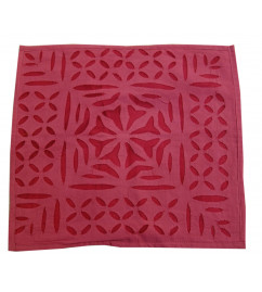 14X14 INCH CUSHION COVER APPLIQUE WORK ASSORTED