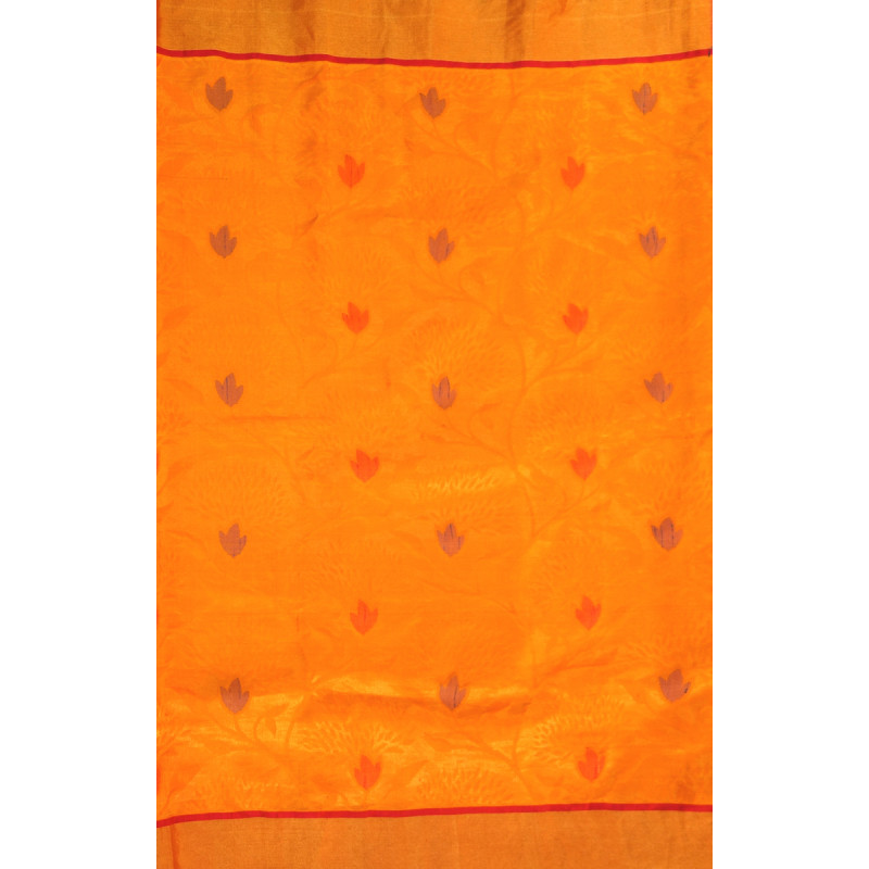 SAREE  UPADA JAMDANI SILK WITH BLOUSE