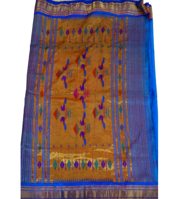 SAREE  PAITHANI SILK WITH BLOUSE