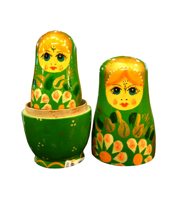 RUSSIAN DOLL 5pcs Together