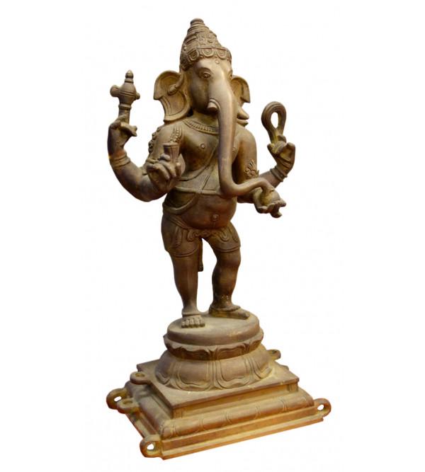 Ganesha Handcrafted In Bronze