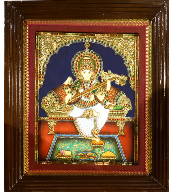 THANJAVUR  SARASWATI PAINTING ASSORTED