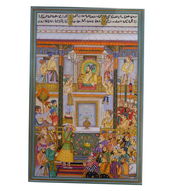 MINIATURE DIWAN-E-KHAS PAINTING ASSORTED WITHOUT FRAME