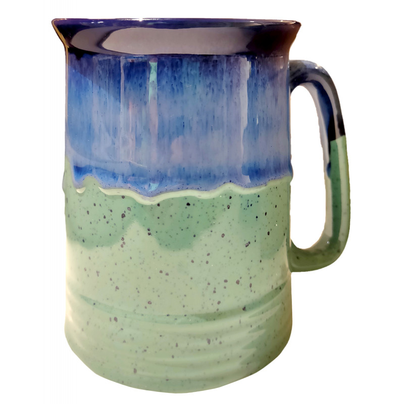Khurja Pottery Beer Mug Assorted Size 5 Inch