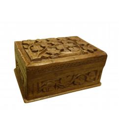 BOX WALNUT 6X4 INCH