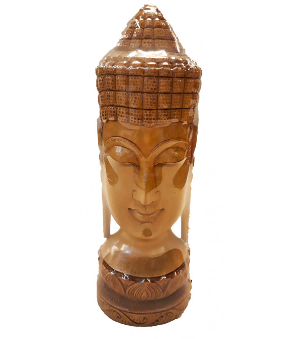9 INCH BUDDHA HEAD SANDALWOOD