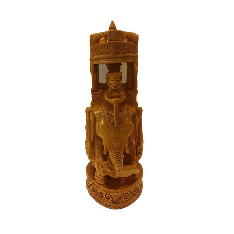Kadamba Wood Handcrafted Carved Ambari